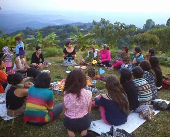 Circulo de Mujeres. Floripa. Brasil