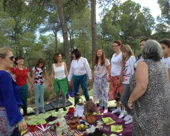 Circulo de sanación. Valencia. España
